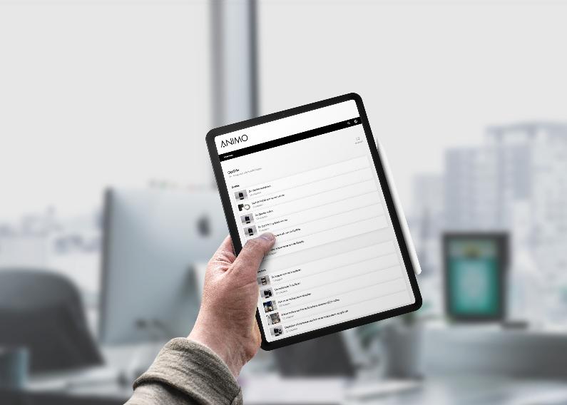 De nieuwe handleiding van Animo: digitaal, online en met duidelijke instructies.